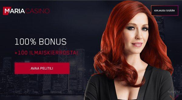 Maria Casino - Netticasino ja Nettibingo
