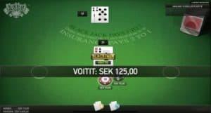 blackjack netissä