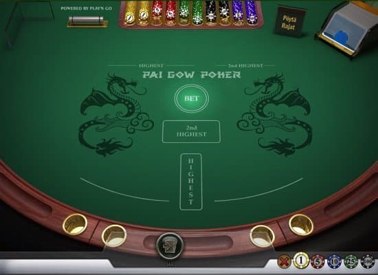pai gow pokeri