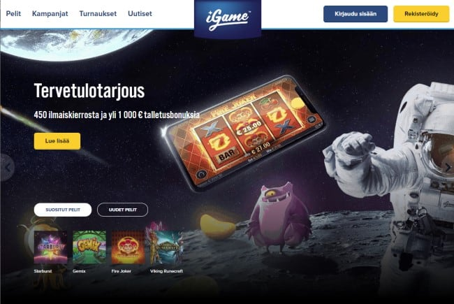 igame suomi