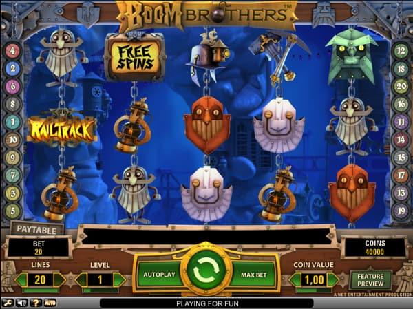 Boom Brothers kolikkopeli