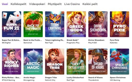 21.com uudet kasinopelit