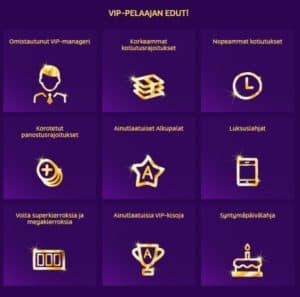 PlayOJO VIP Edut
